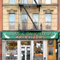 Photo taken at Russ & Daughters by Russ & Daughters on 3/10/2014