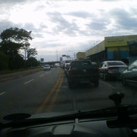 Photo taken at Viaduto Al. Contorno / Rod. BR-153 by Christiano M. on 10/16/2012