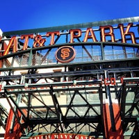 Photo taken at AT&T Park by Richard on 7/7/2013