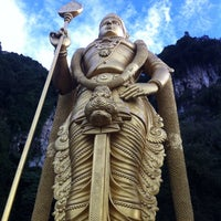 Photo taken at Batu Caves by Prem R. on 1/30/2015