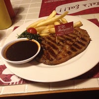 Photo taken at Steak Hotel by Holycow! TKP Radal by Sascha Z. on 12/3/2012