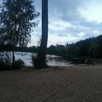 Photo taken at Bābelītes ezers by Līga R. on 7/15/2013