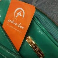 Photo taken at Peek-a-boo Hair Salon by MasLiza on 11/2/2013