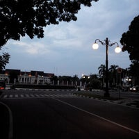 Photo taken at Bunderan kantor gubernur jambi by Stefanus B. on 8/1/2014
