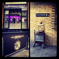 Photo taken at Platform 9¾ by Martina on 1/12/2013