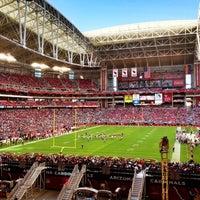 Photo taken at University of Phoenix Stadium by Scherjang S. on 12/16/2012