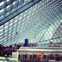Photo taken at Seattle Central Library by Jtkv K. on 10/3/2012