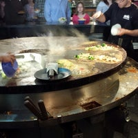 Photo taken at HuHot Mongolian Grill by Cedar B. on 5/26/2013