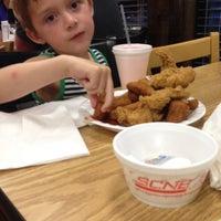 Photo taken at Smithfield's Chicken 'N Bar-B-Q by David N. on 4/24/2014
