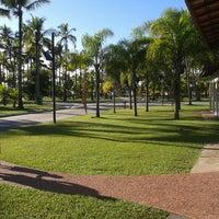 Photo taken at Praia do Sesc Bertioga by William S. on 2/18/2014
