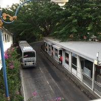 Photo taken at Halte TransJakarta Ancol by KT M. on 5/2/2015