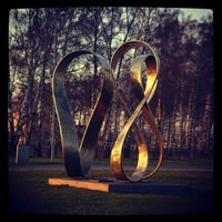 "Photo taken at ""Rīgai - 800"" piemineklis | Monument of ""Riga - 800"" by Ladiis M. on 7/30/2013"