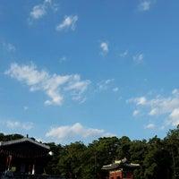 Photo taken at 동구릉 by Alex L. on 9/13/2015