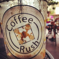Photo taken at Coffee Rush by Jeffrey R. on 6/7/2013
