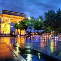 Photo taken at Arc de Triomphe by Pablo M. on 5/30/2013