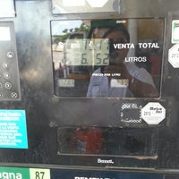Photo taken at Gasolinera PEMEX by Victor Eduardo C. on 7/19/2014