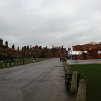 Photo taken at Hampton Court Palace Hotel by Cat Y. on 1/5/2013