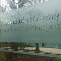 Photo taken at Fondation Cartier pour l'Art Contemporain by Heejin J. on 1/25/2013