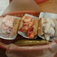 Photo taken at Luke's Lobster by Adriana R. on 11/16/2012