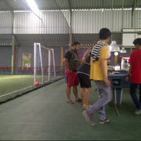 Photo taken at Galaxy Futsal Center by Vicka A. on 10/1/2013