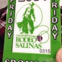 Photo taken at California Rodeo Salinas by Elliott F. on 7/19/2014