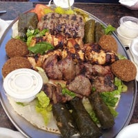 Photo taken at Shawarma King by mary c. on 10/15/2012