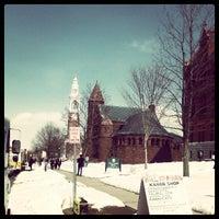 Photo taken at UVM Ira Allen Chapel by Bill M. on 3/22/2013