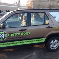 Photo taken at Metro Dogs Daycare & Boarding by John E. on 3/28/2014
