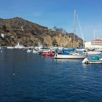 Photo taken at Avalon Harbor by Carlos E. on 2/12/2016