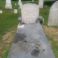 Photo taken at F. Scott Fitzgerald's Grave by Julie J. on 7/26/2013