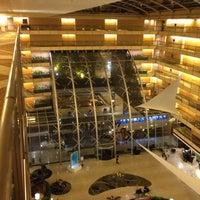 Photo taken at Hilton Buenos Aires by Rodrigo O. on 3/1/2013