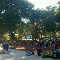 Photo taken at Cambier Park by Steve H. on 9/29/2012