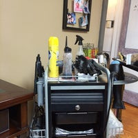 Photo taken at Augusta Place Salon by Lisa G. on 3/6/2014