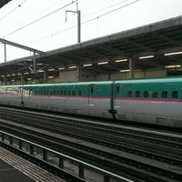 Photo taken at 新白河駅 1番線ホーム by もも on 3/16/2014