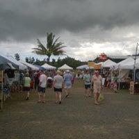 Photo taken at Hanalei Saturday Farmers Market by Mathew B. on 3/1/2014