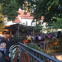 Photo taken at Brauereischenke Kastaniengarten by Aziza B. on 7/24/2014