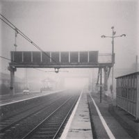 Photo taken at St Neots Railway Station (SNO) by Andy H. on 3/13/2014
