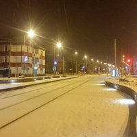 Photo taken at Průběžná (tram) by Petr M. on 1/5/2017