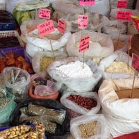 Photo taken at Mercado Peruano by henry S. on 6/8/2014