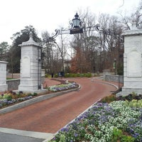 Photo taken at Emory University by Michael F. on 1/3/2013