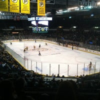 Photo taken at Dunkin' Donuts Center by David B. on 1/13/2013