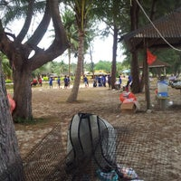 Photo taken at Ramunia Beach Resort @ Teluk Ramunia by Aliyaa M. on 4/10/2013