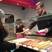 Photo taken at Bisous Ciao Macarons by Martin C. on 3/1/2013