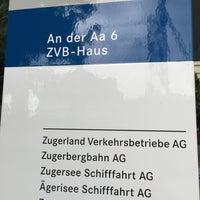 Photo taken at Zuger Verkehrsbetriebe by Falco 5. on 7/8/2015