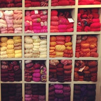 Photo taken at Jennifer Knits by Alexandra E. on 3/20/2013