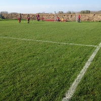 Photo taken at FC Moortsele by Julie on 11/1/2014