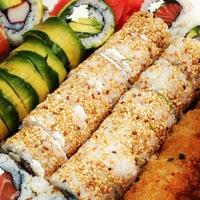 Photo taken at Niu Sushi by Cristobal A. on 5/18/2013