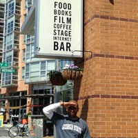 Photo taken at Busboys and Poets by m. h. on 4/18/2013