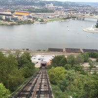 Photo taken at Duquesne Incline by Allison G. on 9/19/2015