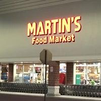 Photo taken at Martin's Food Market by David M. on 3/18/2016